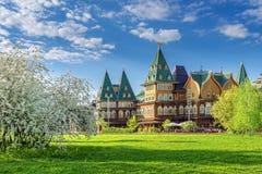 阿列克谢米哈伊洛维奇宫殿 免版税库存图片