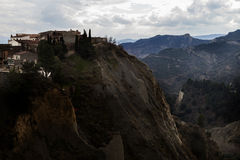 阿利亚诺,巴斯利卡塔,意大利 免版税库存图片