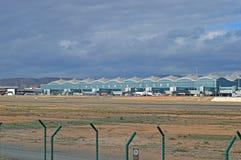 阿利坎特机场 免版税图库摄影