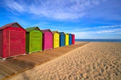 阿利坎特海滩playa西班牙圣胡安  库存图片