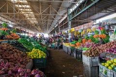 阿加迪尔,摩洛哥- 2017年12月15日:Souk El有,在中心 库存照片