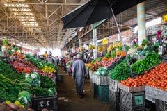 阿加迪尔,摩洛哥- 2017年12月15日:Souk El有,在中心 免版税库存照片