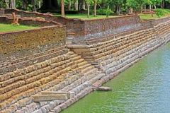 阿努拉德普勒大象池塘,斯里兰卡联合国科教文组织世界遗产名录 免版税库存照片