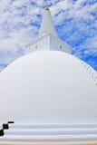 阿努拉德普勒Mirisawatiya Stupa,斯里兰卡联合国科教文组织世界遗产名录 免版税库存图片