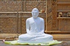 阿努拉德普勒Ruwanwelisaya Stupa,斯里兰卡联合国科教文组织世界遗产名录 图库摄影