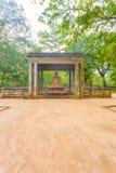 阿努拉德普勒Samadhi菩萨雕象小径v 免版税库存照片