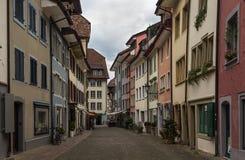 阿劳,瑞士 免版税库存照片