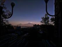 阿勒山挂接 库存图片