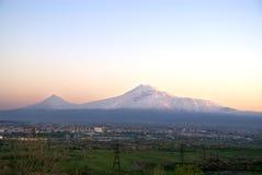 阿勒山 免版税图库摄影