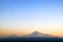 阿勒山 库存照片