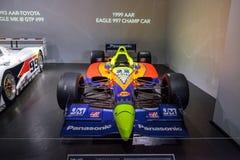 1999年阿勒河老鹰997冠军汽车 库存图片