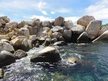 阿卡普尔科和海–墨西哥 免版税库存照片
