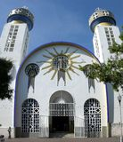 阿卡普尔科大教堂 免版税库存图片