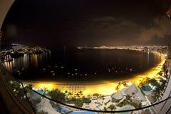 阿卡普尔科海湾墨西哥 免版税图库摄影