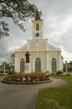 阿卡迪亚人的教会 库存图片