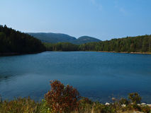 阿卡迪亚湖 库存图片