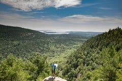 阿卡迪亚缅因国家公园美国 免版税图库摄影