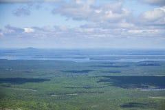 阿卡迪亚缅因国家公园 免版税图库摄影