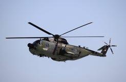 阿古斯塔HH-3F直升机 库存照片