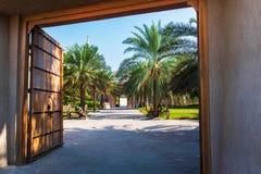 阿吉曼,阿拉伯联合酋长国- 2018年12月6日:阿吉曼博物馆sho 免版税库存照片