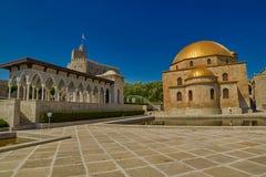 阿哈尔齐赫,乔治亚- 2017年8月08日:著名Rabati城堡Comp 免版税库存照片