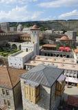 阿哈尔齐赫Rabati城堡中心 免版税图库摄影