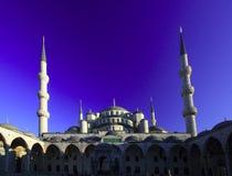 阿哈迈德蓝色伊斯坦布尔清真寺苏丹 库存照片