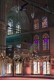 阿哈迈德蓝色伊斯坦布尔清真寺苏丹 图库摄影