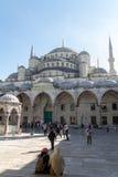 阿哈迈德・伊斯坦布尔清真寺苏丹火&# 库存图片