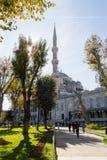 阿哈迈德・伊斯坦布尔清真寺苏丹火&# 库存照片