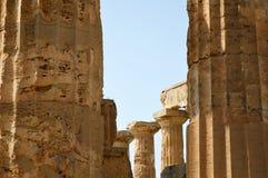 阿哥里根托-意大利011的寺庙的谷 库存图片