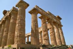 阿哥里根托-意大利015的寺庙的谷 图库摄影