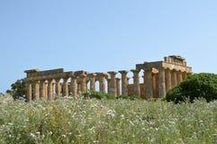 阿哥里根托-意大利023的寺庙的谷 免版税库存图片
