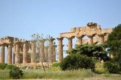 阿哥里根托-意大利04的寺庙的谷 库存照片