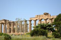 阿哥里根托-意大利05的寺庙的谷 图库摄影