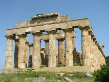 阿哥里根托-意大利102的寺庙的谷 免版税库存照片