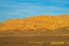 阿塔卡马沙漠干旱的谷 库存图片