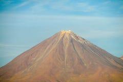 阿塔卡马沙漠火山 免版税库存图片