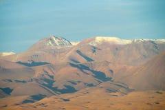 阿塔卡马沙漠火山 库存照片