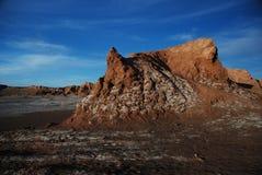 阿塔卡马沙漠盐 免版税库存照片