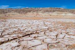 阿塔卡马沙漠风景 库存照片