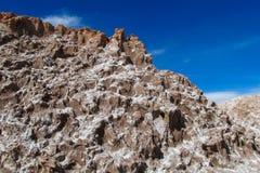 阿塔卡马沙漠风景 库存图片
