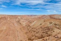 阿塔卡马沙漠风景 免版税库存照片