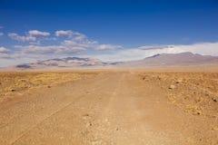 阿塔卡马沙漠 智利 免版税库存照片