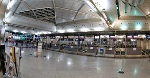 阿塔图尔克国际机场-报到 免版税库存图片