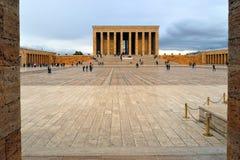 阿塔图尔克陵墓,土耳其 库存图片