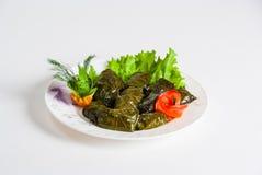 阿塞拜疆全国食物- dolma 免版税图库摄影