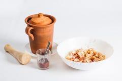 阿塞拜疆全国食物- Piti 图库摄影