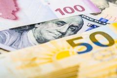 阿塞拜疆本国货币贬值 免版税库存照片