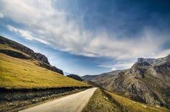阿塞拜疆的伟大的山 免版税图库摄影